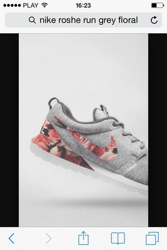 shoes nike running shoes nike roshe run nike roshes floral flowers