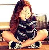sweater,vans,black,sweatshirt