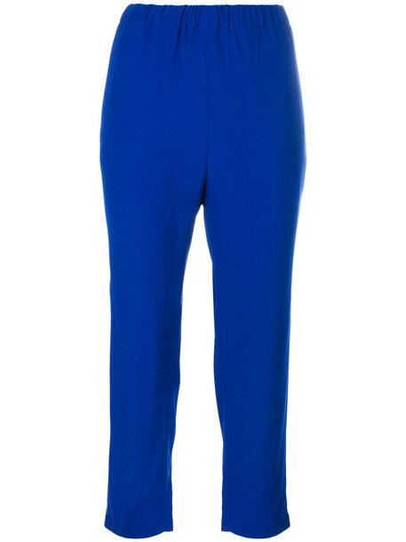 MARNI cropped women blue pants