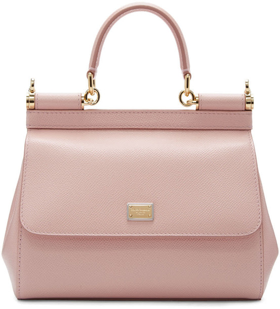 Dolce and Gabbana bag pink