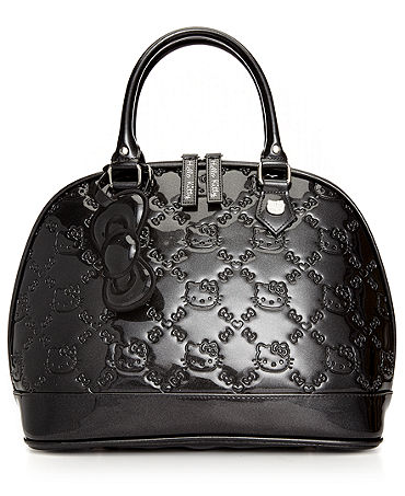 Hello Kitty Handbag, Glitter Embossed Satchel - Handbags & Accessories - Macy's