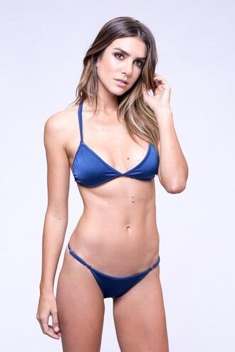 top blue bralette dbrie swim triangle bikiniluxe