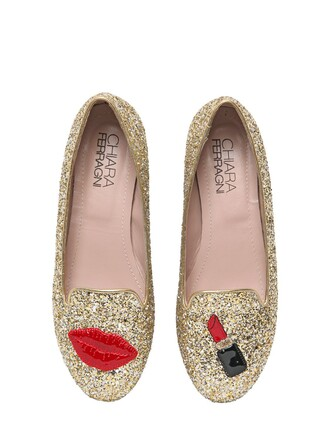 glitter loafers gold shoes