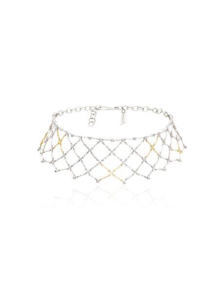 Gaelle Khouri women gold silver white yellow grey metallic jewels