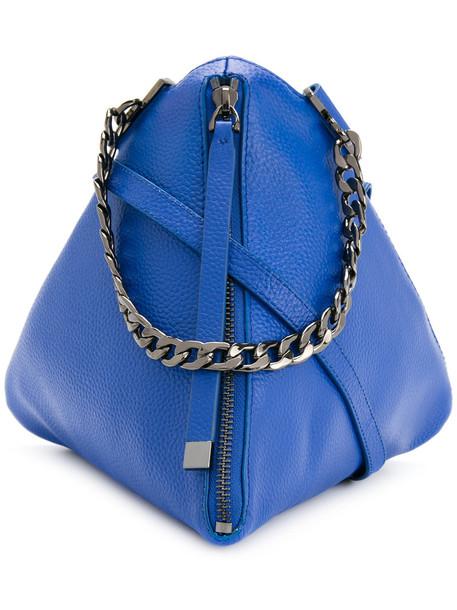 GINGER & SMART mini women bag mini bag leather blue