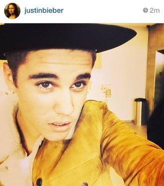 jacket justin bieber yellow