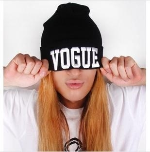 "Lookbookstore ""Vogue"" knit beanie"