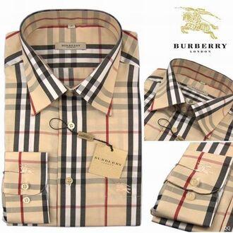 shirt real burberry