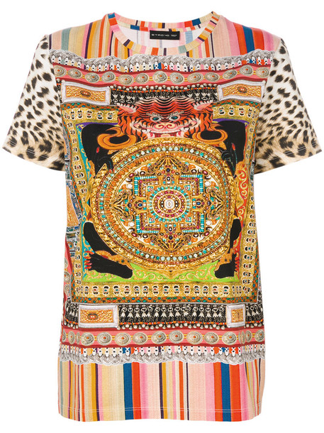 t-shirt shirt t-shirt women cotton print top