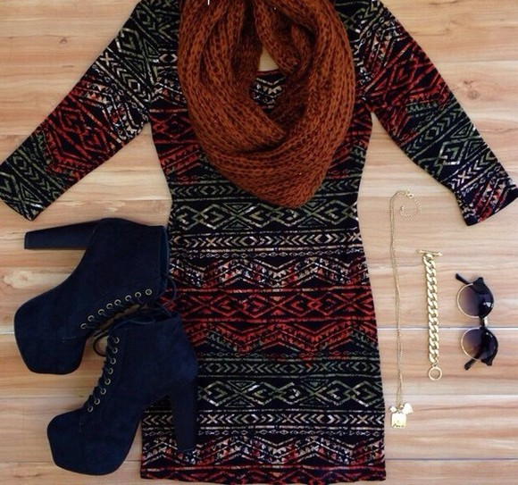 dress white dress cute tribal pattern short dress little black dress red dress long sleeve dress sexy beautiful dress a-line dresses