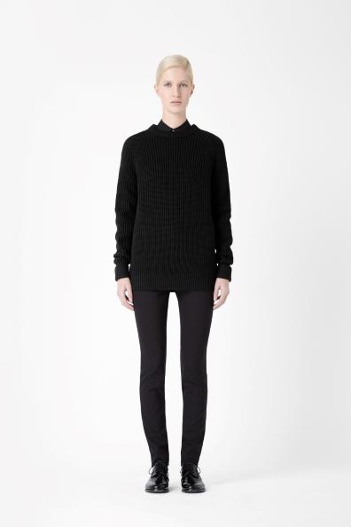 Side zip jumper