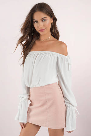 Naomi Off Shoulder Blouse