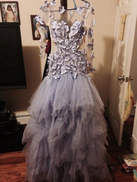 dress violet dress