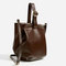 Single coloured buckled leather bucket bag - leather-bags-woman-sale   zara united states