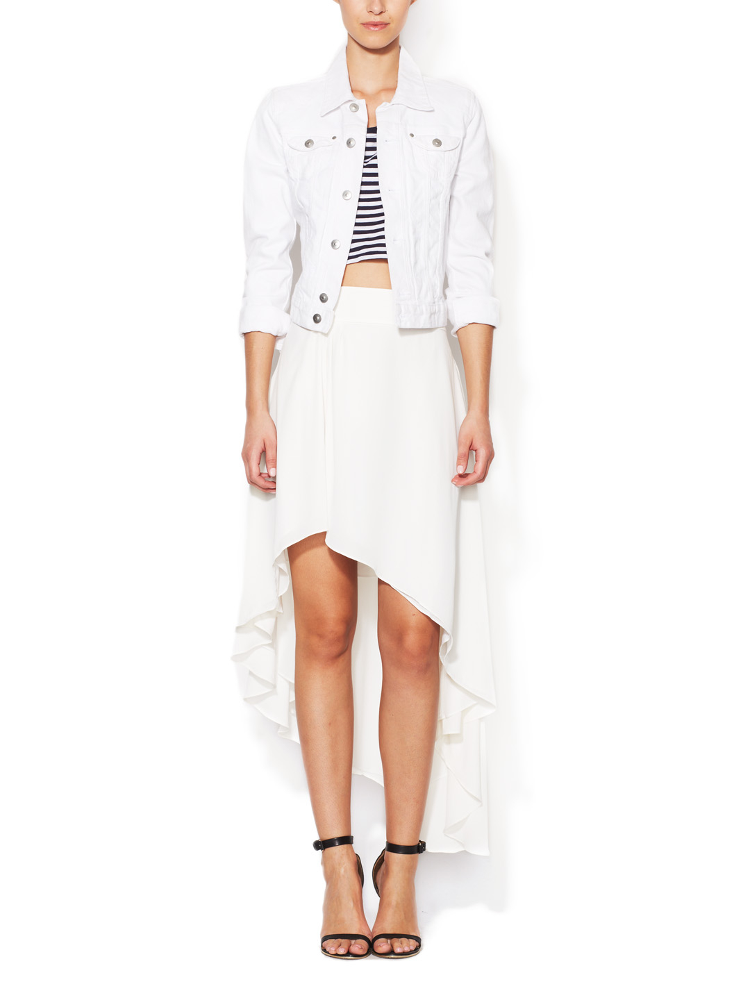Modern Nadia Asymmetrical Skirt by Elizabeth and James at Gilt