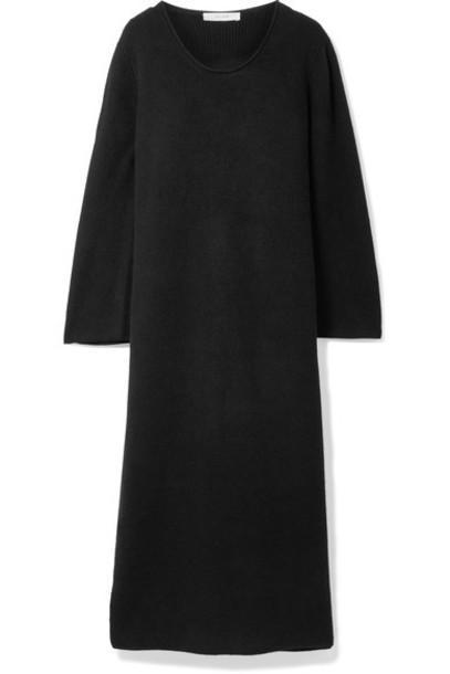 The Row dress midi dress midi black