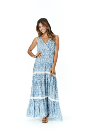 dress,maxi,maxi dress,lace,tiered maxi dress,boho,bohemian,girly,festival,coachella,lovestitch,lovestitch women's clothing,shoplovestitch.com