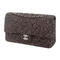 Chanel tweed medium classic double flap bag