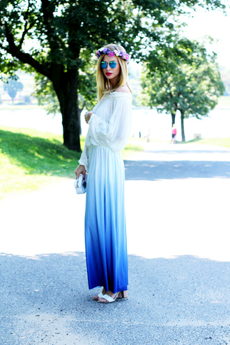 beauty fashion shopping blogger shirt skirt sunglasses jewels bag