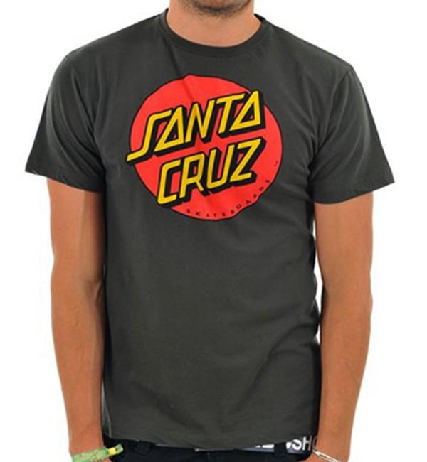 Santa Cruz Classic Dot T Shirt Boardriders Guide