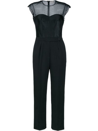 jumpsuit silk black