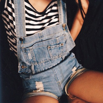 romper blue romper overalls jeans blue jeans