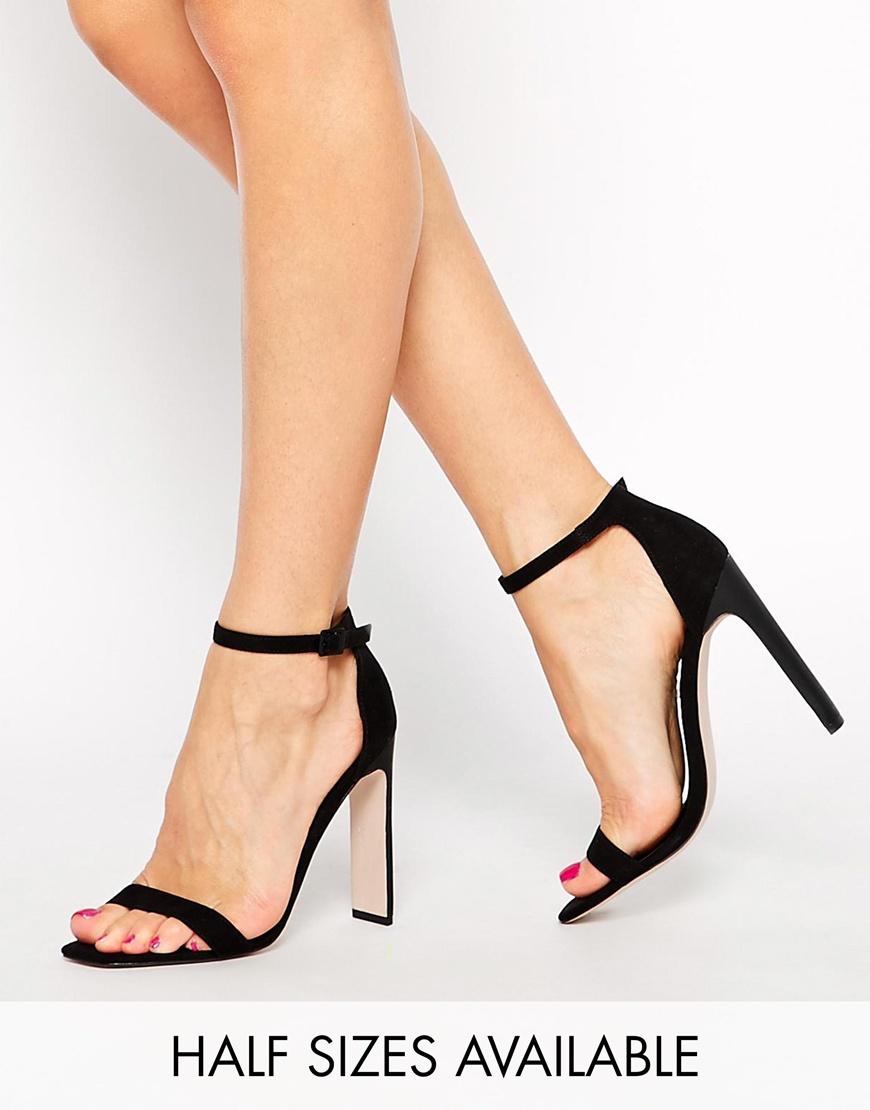 bb144cb5307 ASOS HAMPTON Heeled Sandals at asos.com