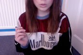 sweater,molboro,jumper,shirt,grunge,sweatshirt,marlboro,smoke,oversized sweater,smoking,t-shirt,malboro,cigarette,girl,colorful,celebrity,brand,wow,shorts,skirt,pants,clothes,tumblr clothes,tumblr