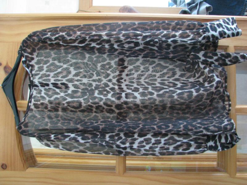 New look leopard print top