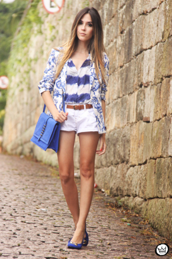 fashion coolture shirt shorts jacket bag