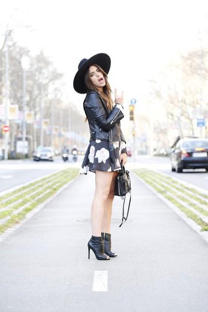 dulceida blogger dress jacket hat bag belt