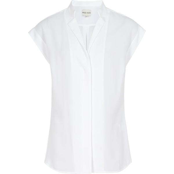 Reiss Diego Stitch Detail Shirt - Polyvore