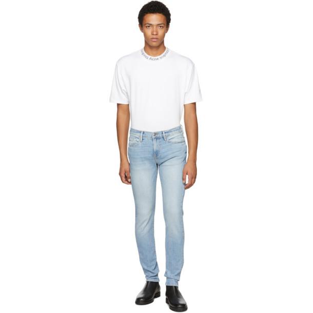 Frame Blue L'Homme Skinny Jeans