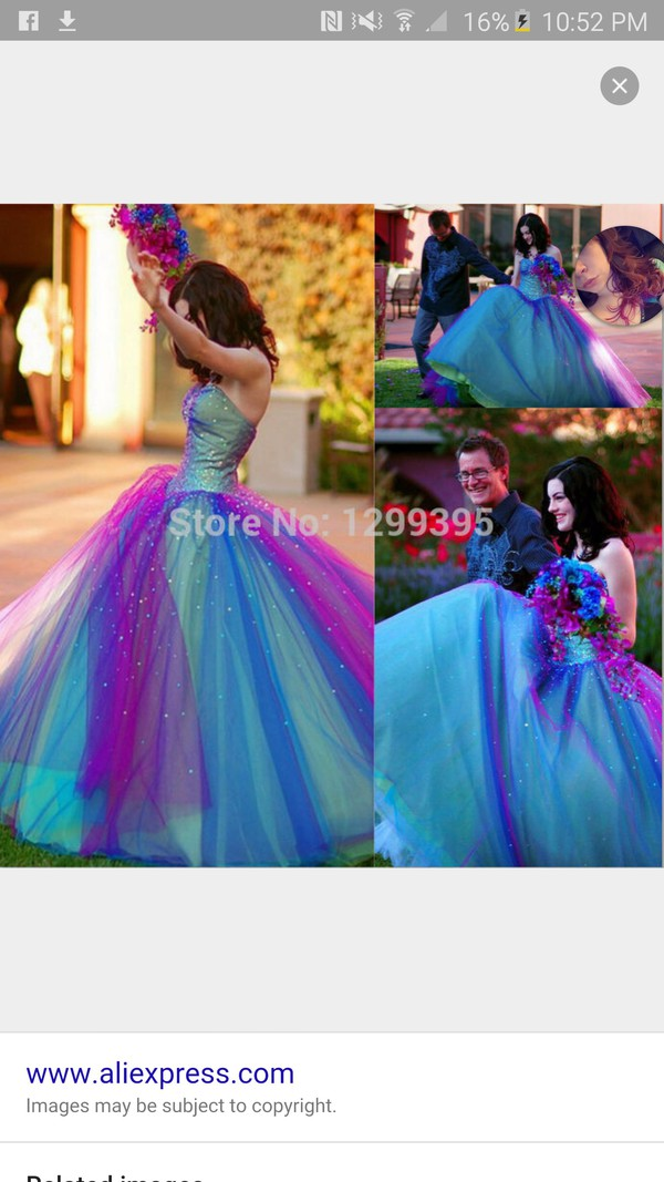 daae8bf95d Prom Dresses For Cheap 2015 Dreamlike Rainbow Prom Dress Ball Gown ...