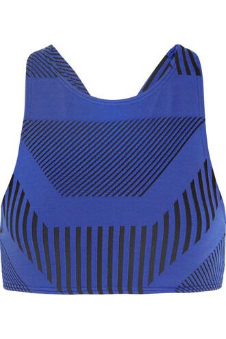 bikini bikini top blue cobalt blue swimwear