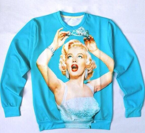 marilyn monroe marilyn monroe sweatshirt