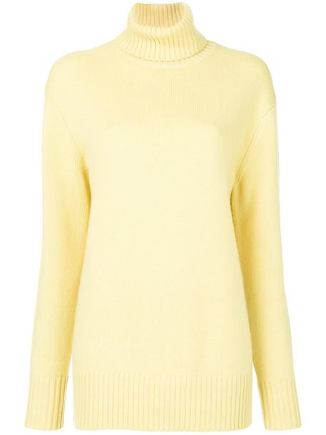 Chloe sweater women yellow orange