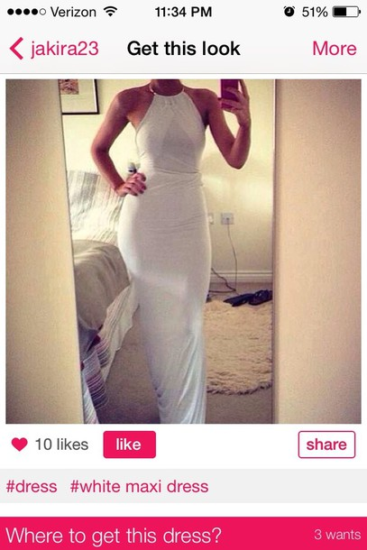 dress white gown