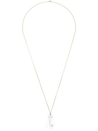women necklace white jewels