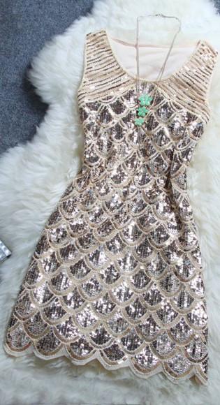 dress gold details straps sparkly short dress party dress cocktail dresses silver
