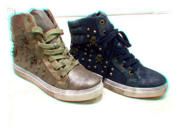 shoes sneakers skulls