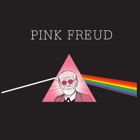 Pink freud shirt :: unemployed philosophers guild