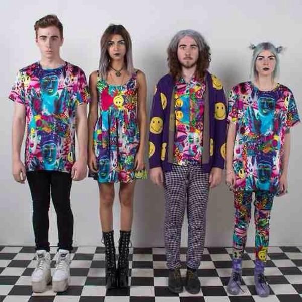 t-shirt grunge hippie