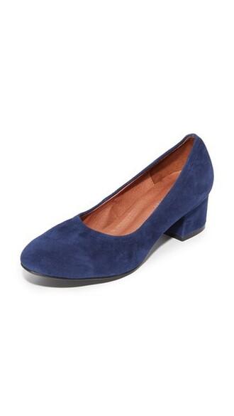 suede pumps pumps navy suede shoes