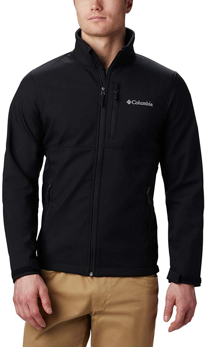 Columbia Men's Ascender Softshell Jacket, Water & Wind Resistant at Amazon Men's Clothing store