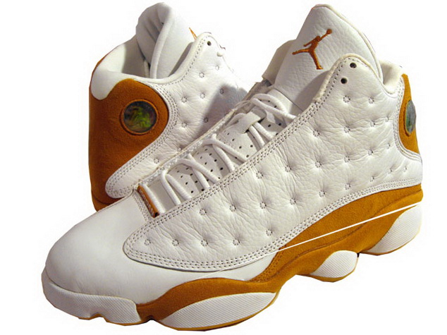 Air Jordan 13 XIII Retro Wheats - White/Wheat Cheap Nike Air Jordan 13 XIII