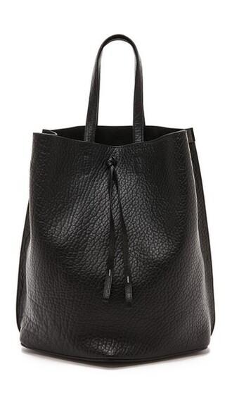 oversized black bag