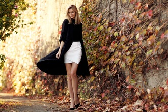 tuula coat t-shirt skirt shoes bag