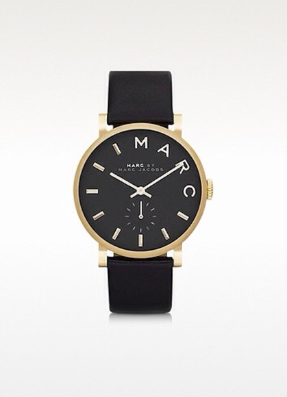jewels fashion leather clock marcjacobs marcbymarcjacobs europe