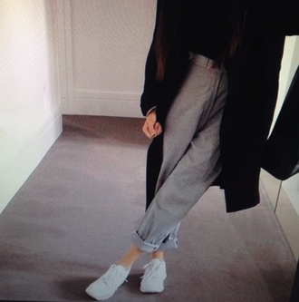 pants high heels smoking pants smoking smoking hot grey pants classy where did u get that where can i buy this giveme high waisted skinny pants tight quilted